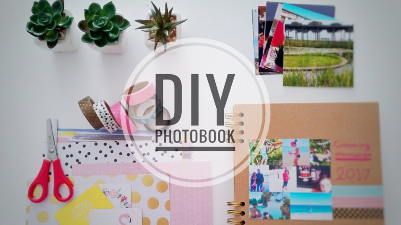 DIY Scrapbooking Photobook